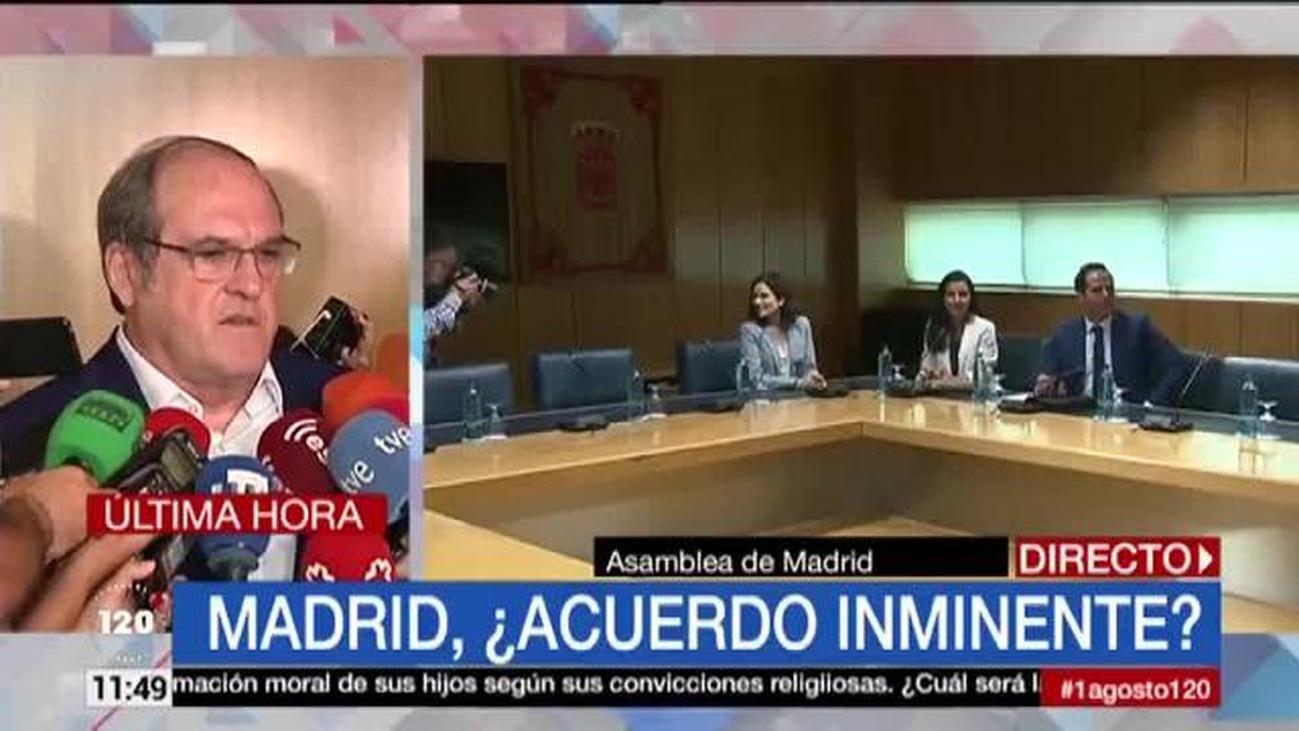 """Ángel Gabilondo: """"Me parece un error que Cs no haya querido hablar con nosotros"""""""