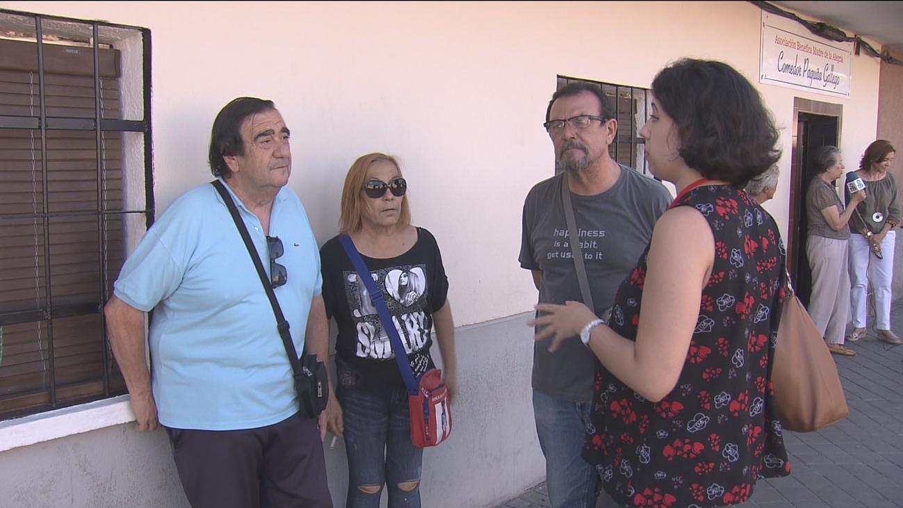 El Comedor Social Paquita Gallego, en Leganés, cierra por vacaciones