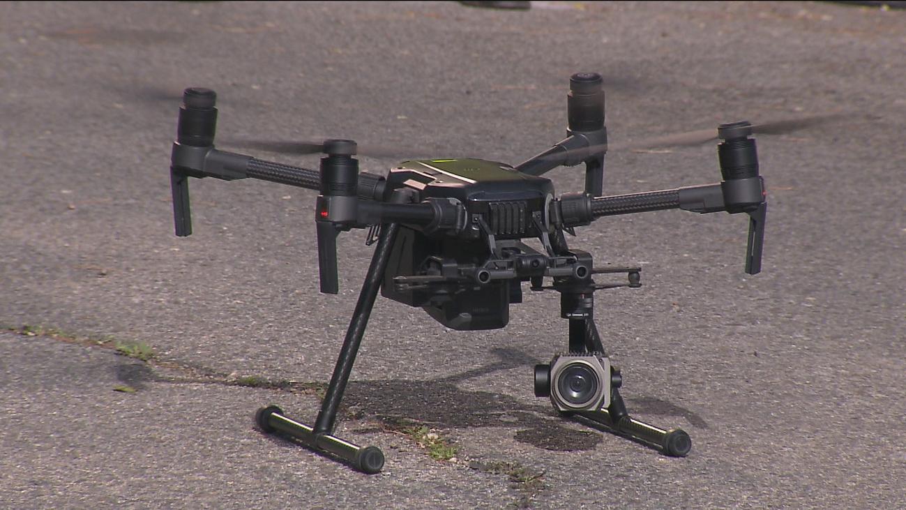 Tres drones de la DGT ya comienzan a multar