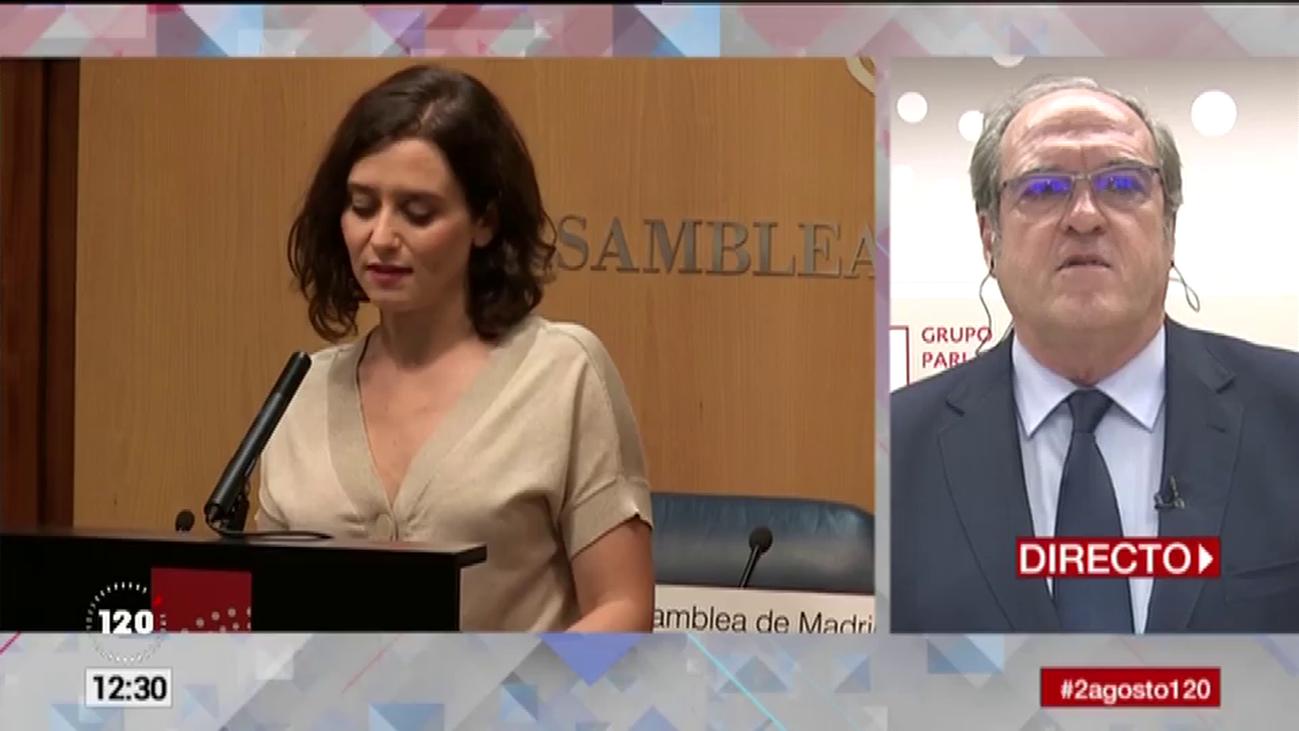 """Gabilondo cree que se forma un Gobierno """"conservador y extremo hacia la derecha"""""""
