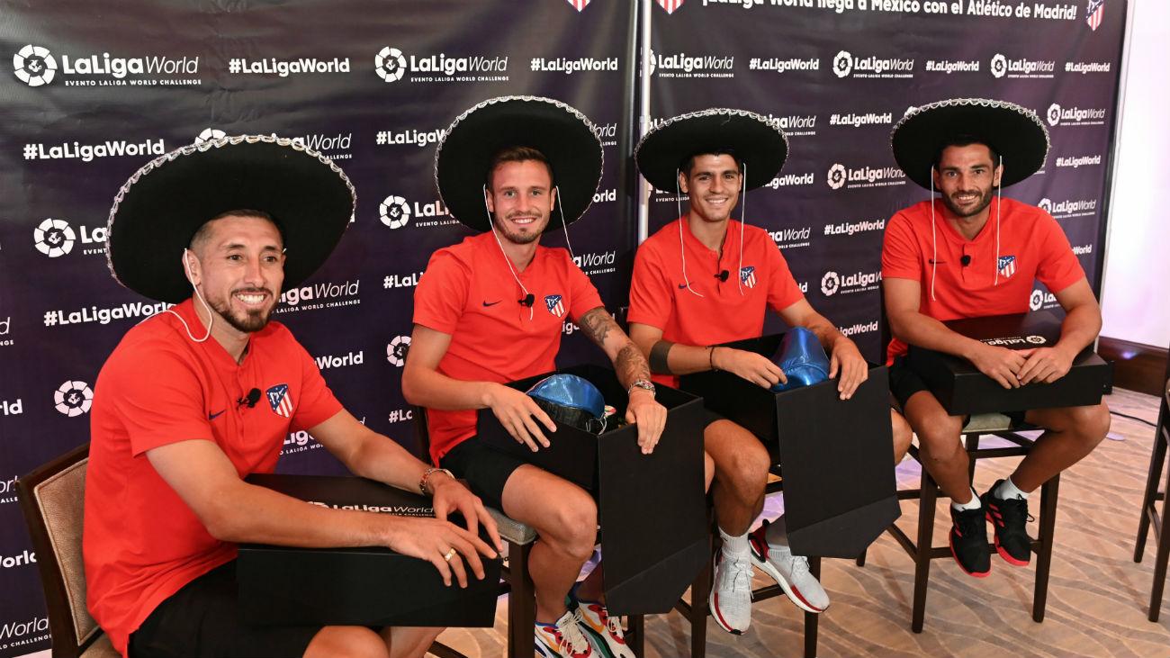 El Atlético se adapta a las costumbres mexicanas
