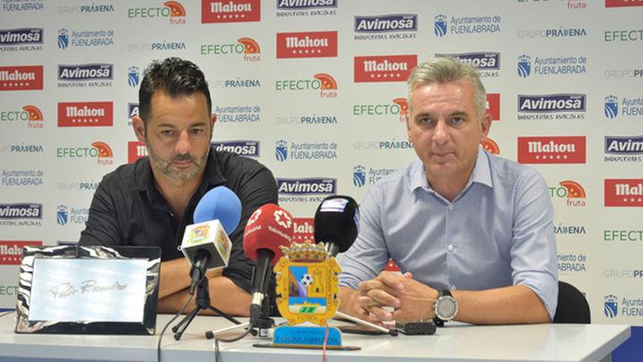 """Miguel Melgar: """"Es probable que vengan cuatro jugadores al Fuenlabrada"""""""