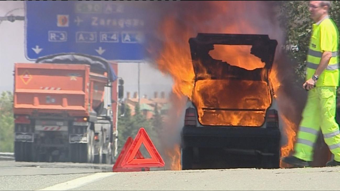 Por qué  arde un coche en verano
