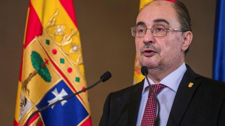 El socialista Javier Lambán toma posesión como presidente de  Aragón
