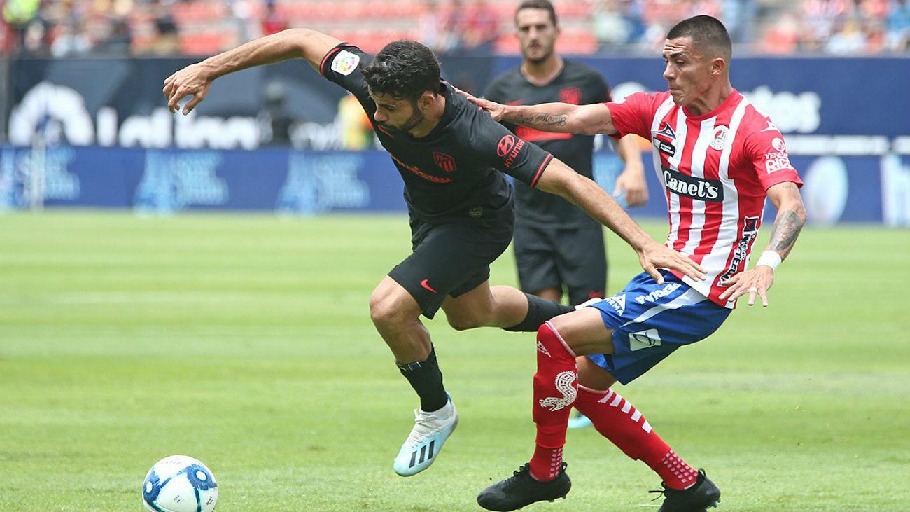 1-2. El Atlético vence al Atlético San Luis