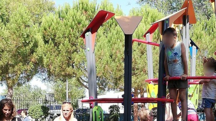 El parque infantil de 'Mr. Iglú' llega a Collado Villalba  tras ganar una competición de reciclaje