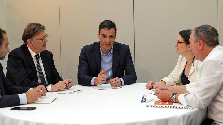 Ábalos da por cerrado un acuerdo con Compromís para investir a Sánchez
