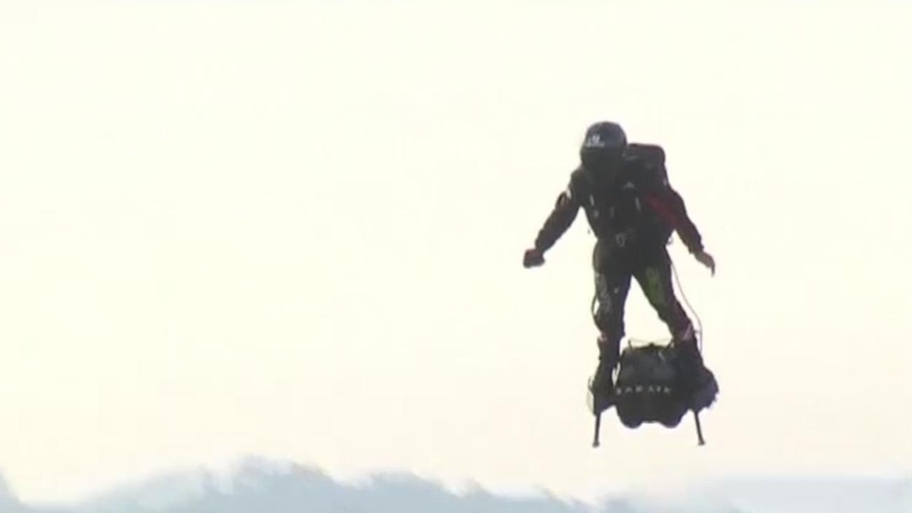 El cine que predijo la llegada del 'hombre volador'