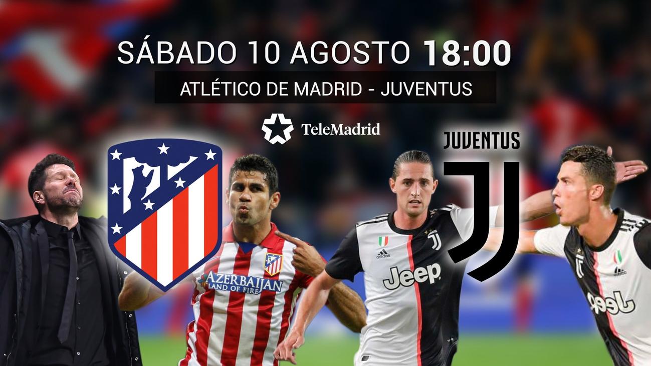 Atlético de Madrid-Juventus, la revancha en Telemadrid