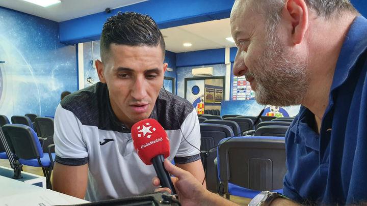 "Fayçal Fajr: ""Parece que no me he ido nunca del Getafe"""