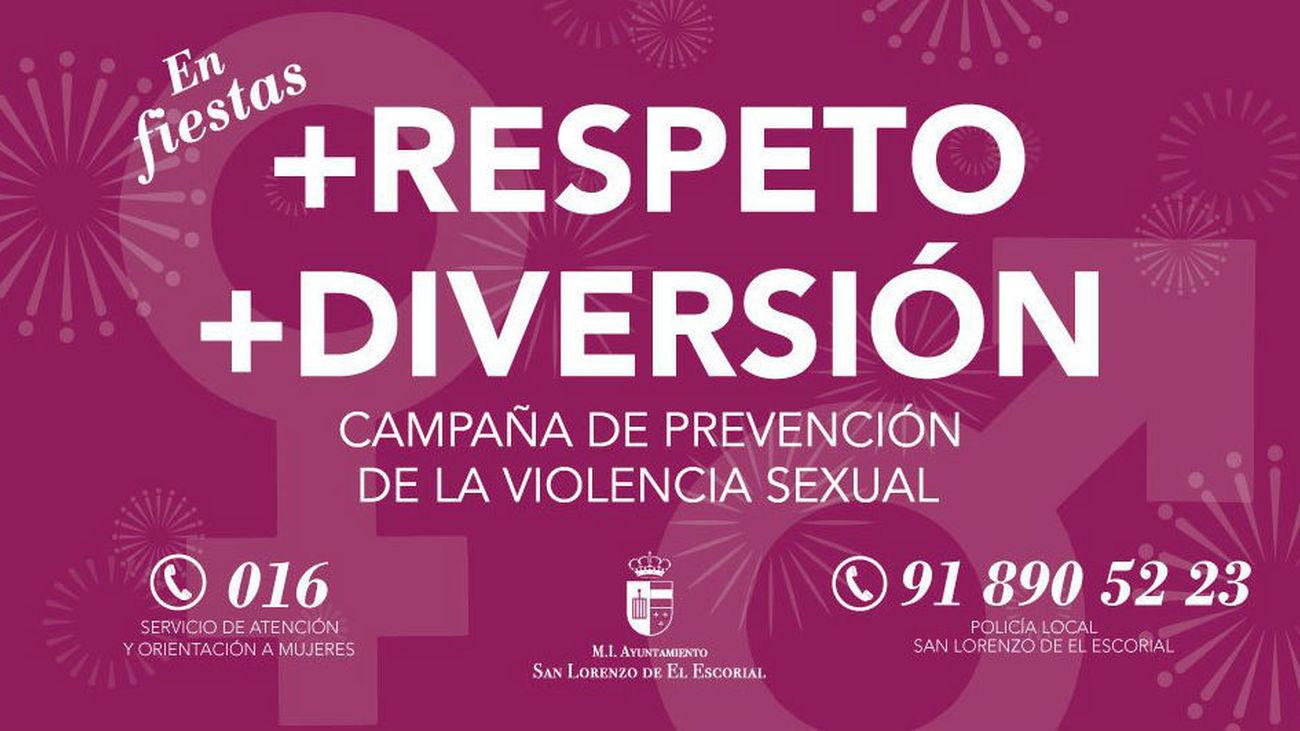 San Lorenzo de El Escorial lanza una campaña de prevención de la violencia machista