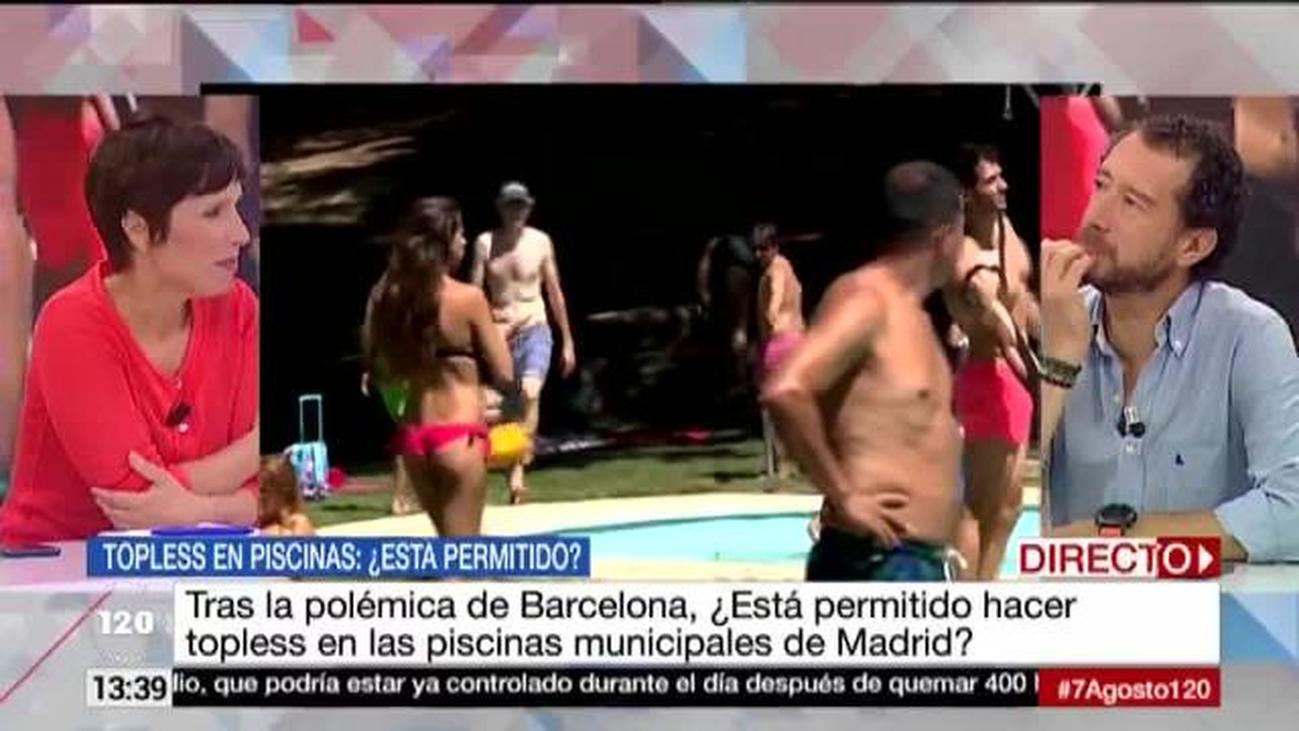 ¿Está permitido hacer topless en las piscinas municipales de Madrid?