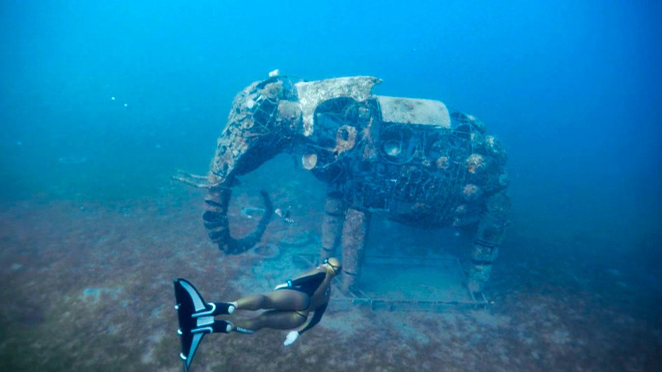 El museo subacuático de Lighthouse