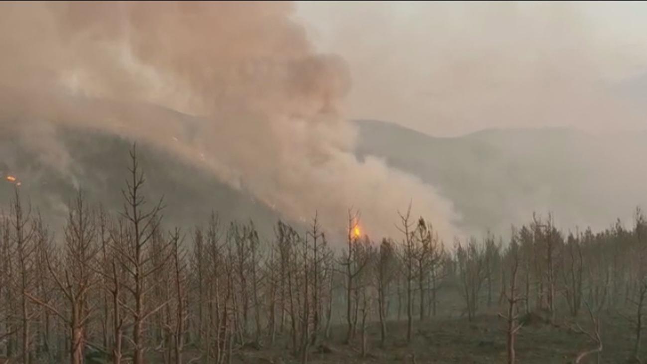 La Granja y Miraflores hacen balance de los daños causados por el fuego
