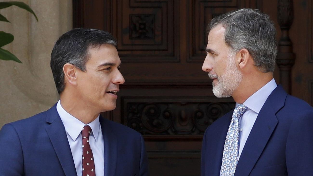 Sánchez coincide con el rey en que los españoles no quieren elecciones