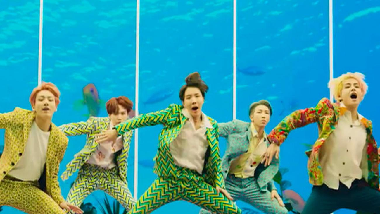 Llega a España la nueva película de BTS, el grupo surcoreano de moda