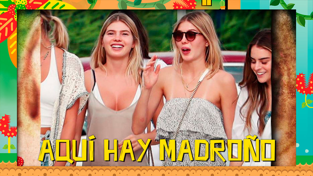El look de 9.090€ que han escogido las gemelas de Julio Iglesias para bajar a la playa