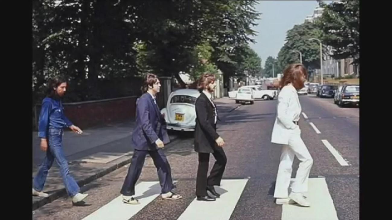 Se cumple 50 años de la mítica foto de los Beatles en  Abbey Road