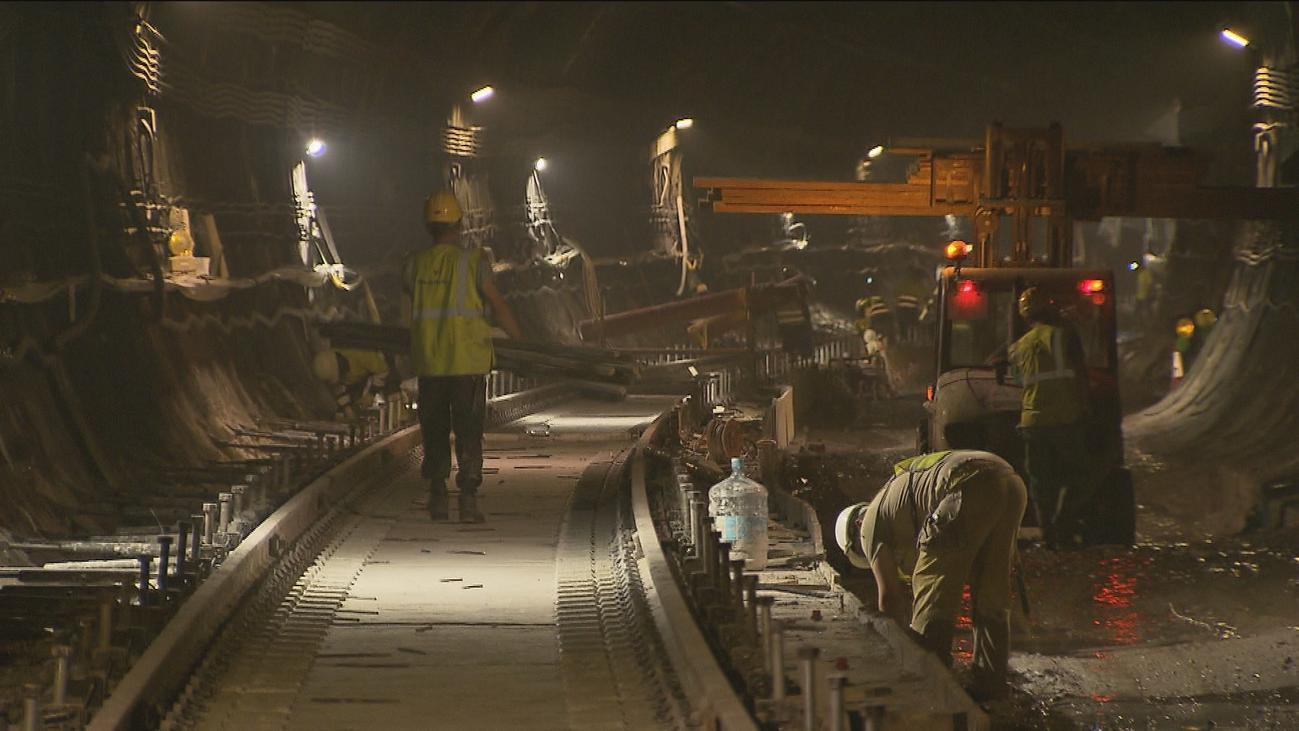 Las obras del túnel de Recoletos marchan a buen ritmo