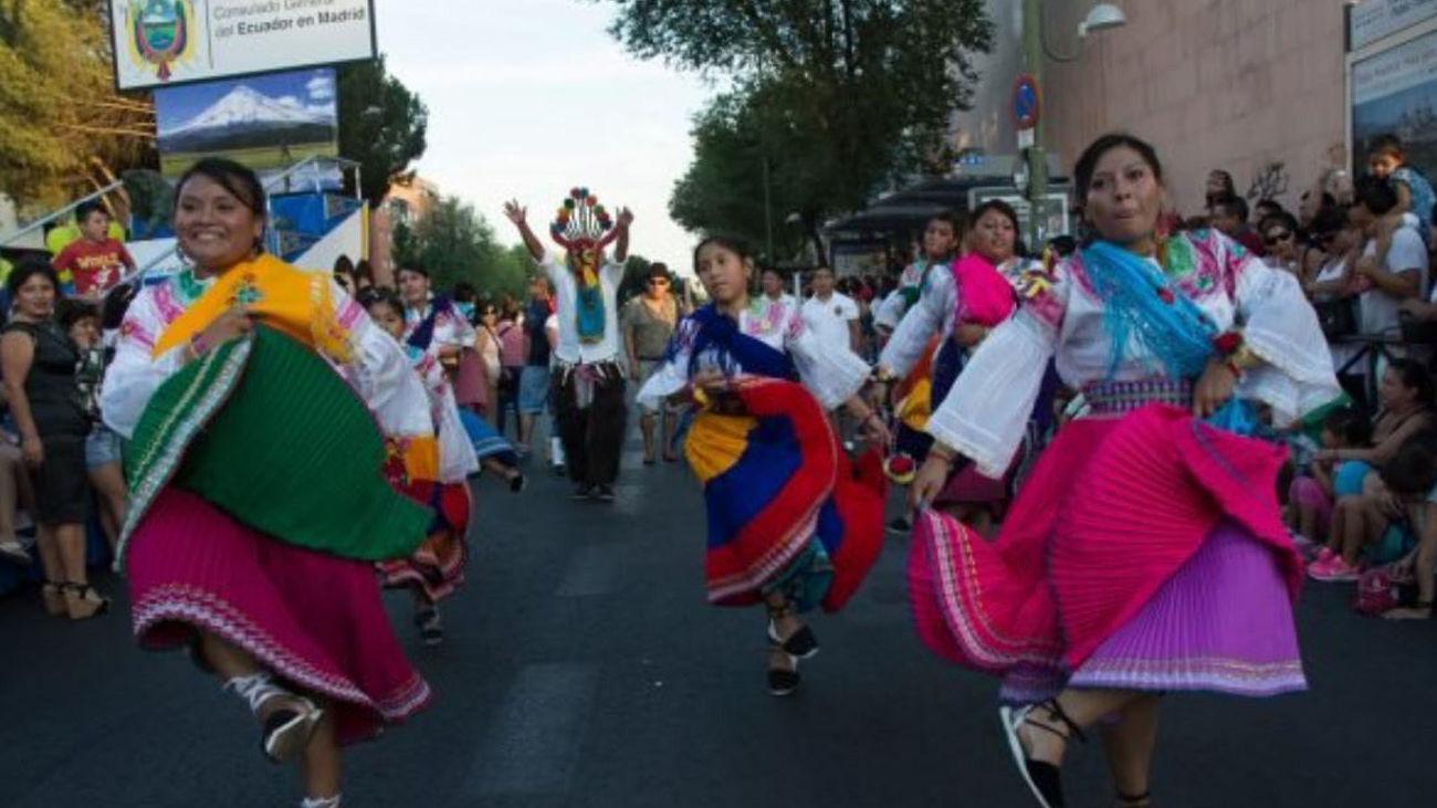 Ciudad Lineal acoge este sábado la Fiesta de la Independencia de Ecuador