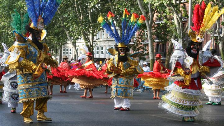 La comunidad boliviana en Madrid celebra este domingo su fiesta en honor a la Virgen de Urkupiña