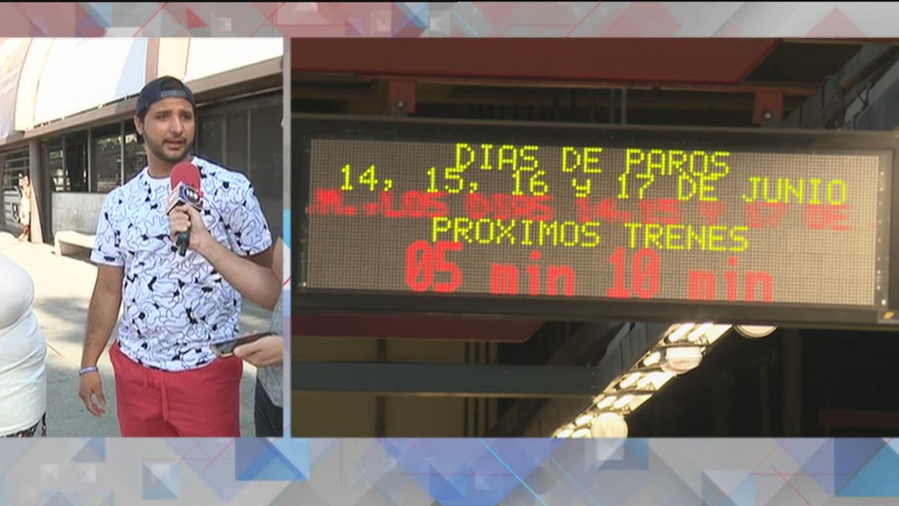 Crecen en verano las quejas entre los usuarios de Metro y EMT en Madrid