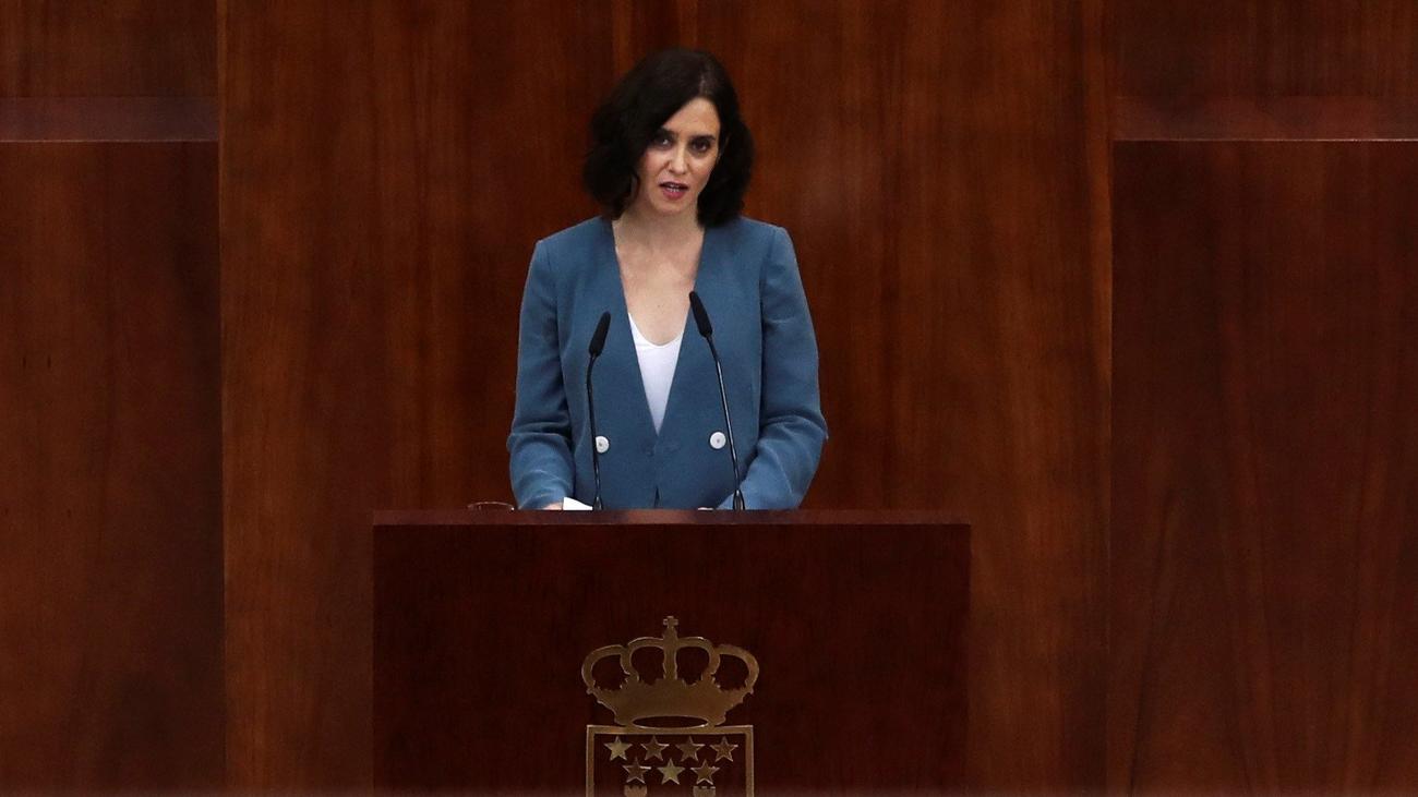 Discurso completo de investidura de Isabel Díaz Ayuso
