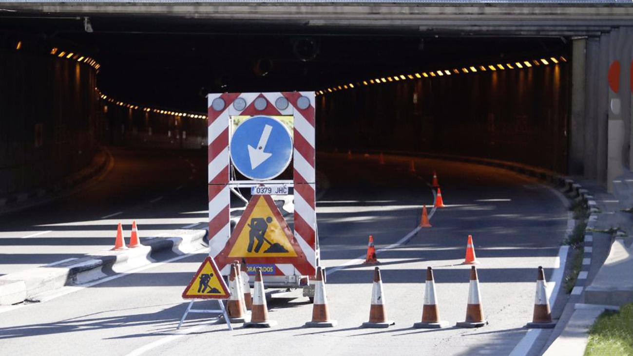 Empiezan las obras en el túnel de la avenida del Planetario
