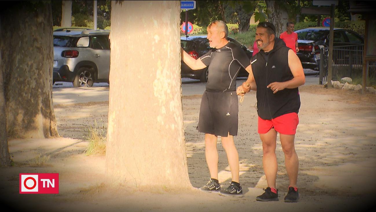 La ceguera no es ninguna excusa para Ismael, un amante del atletismo