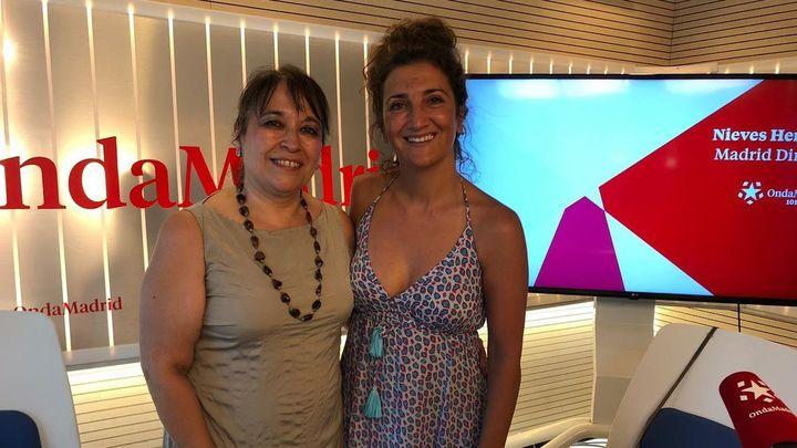 La actriz Pepa Zaragoza homenajea a 'La Baltasara'