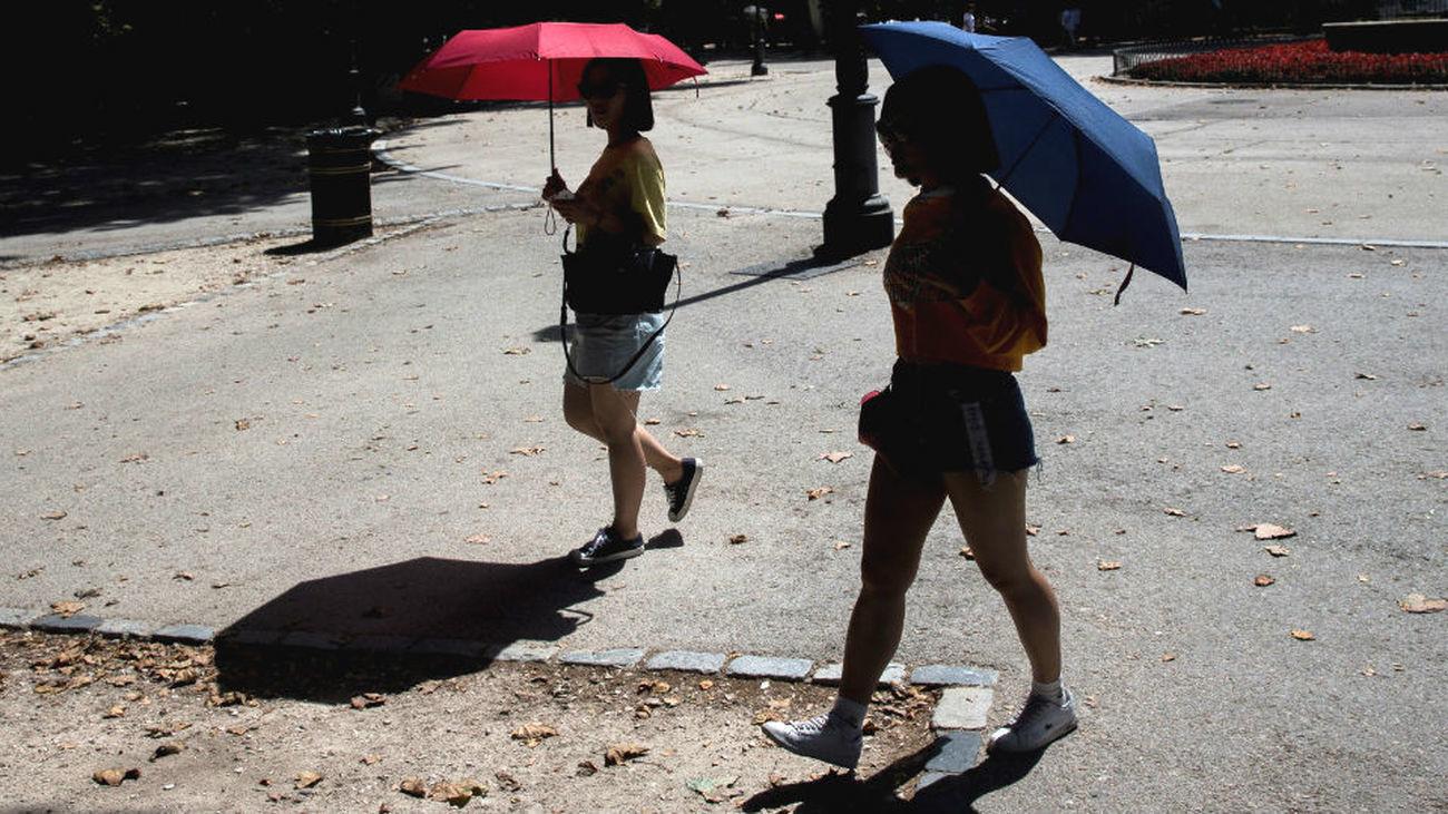 Activado el aviso amarillo por calor en la Comunidad de Madrid