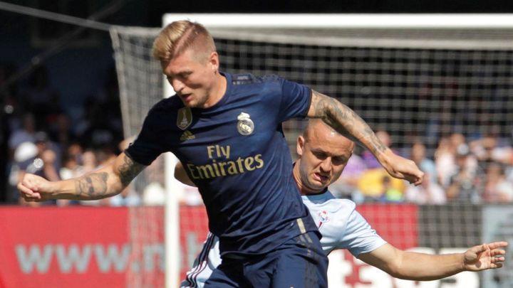 Gol de Kroos al Celta (0-2)