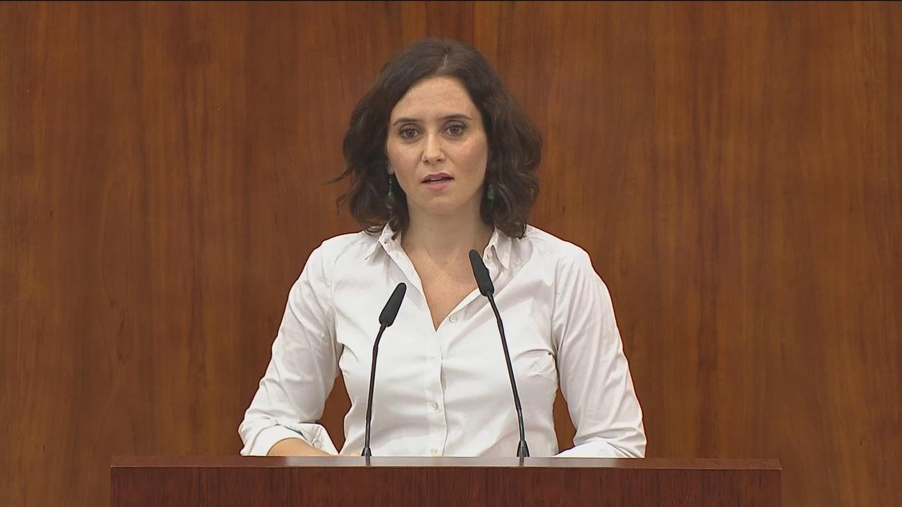 Isabel Díaz Ayuso toma posesión este lunes como nueva presidenta de la Comunidad de Madrid