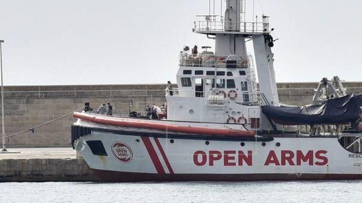 El Gobierno español ofrece Algeciras como puerto de destino al Open Arms