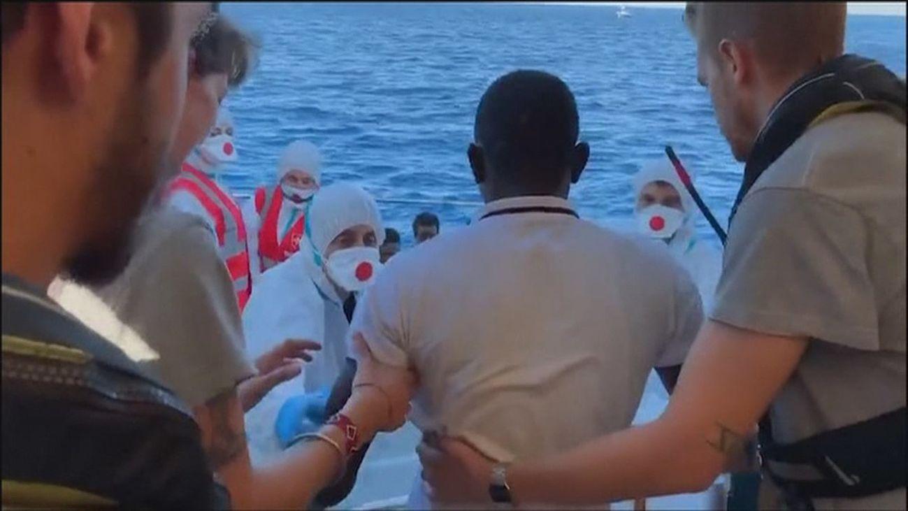 El Open Arms descarta Algeciras como puerto para desembarcar a los migrantes