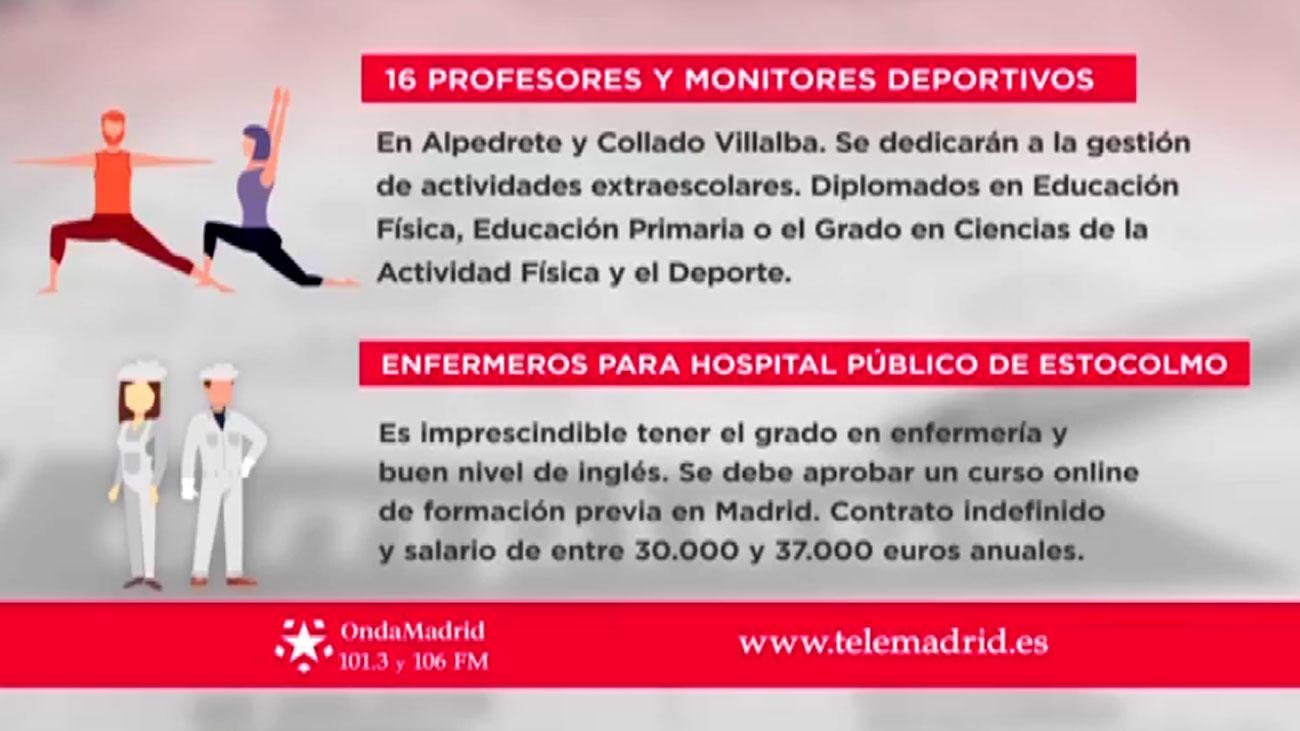 Se necesitan profesores y monitores deportivos en Alpedrete y Collado Villalba