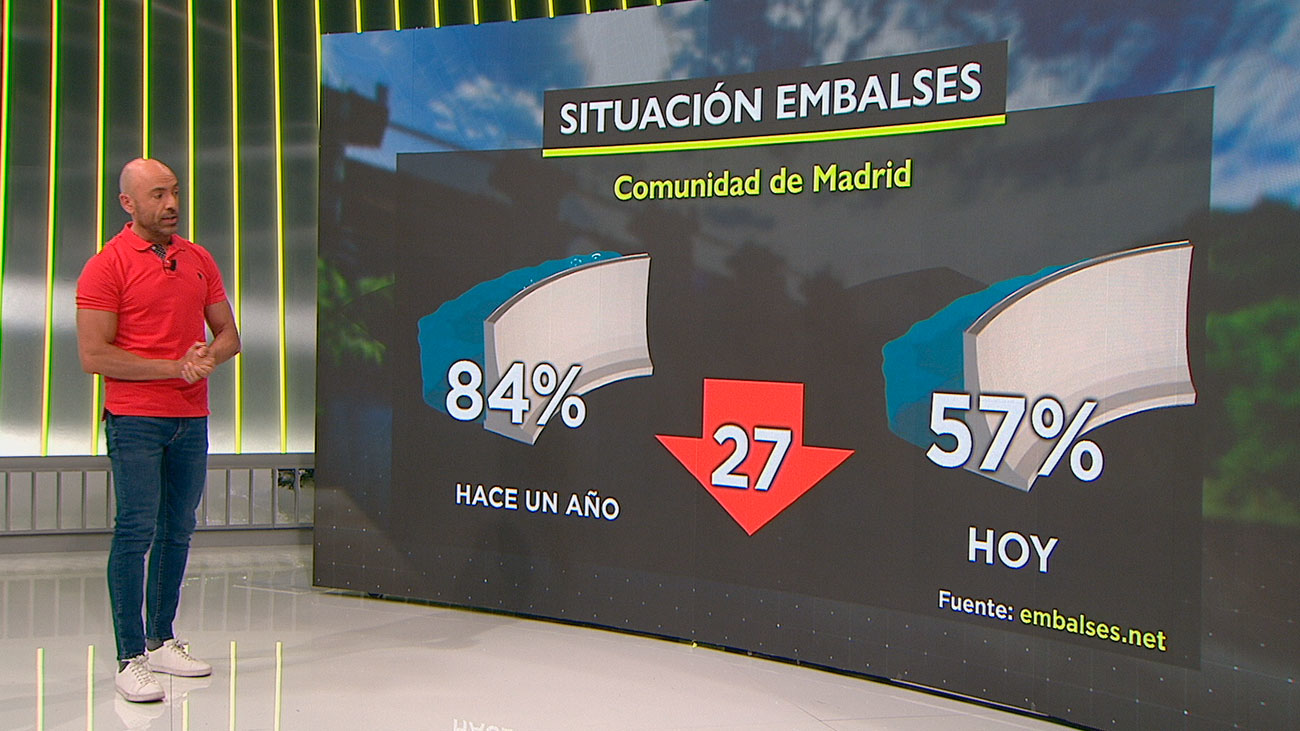 La sierra de Madrid sufre una gran sequía