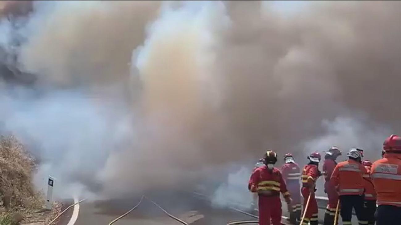 El incendio de Gran Canaria desaloja a 9.000 personas