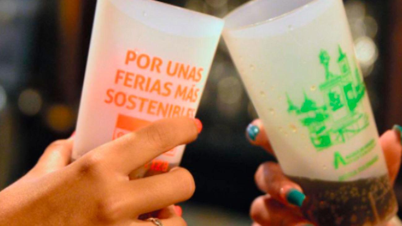 Alcalá repartirá 13.000 vasos reutilizables en las Ferias de la ciudad