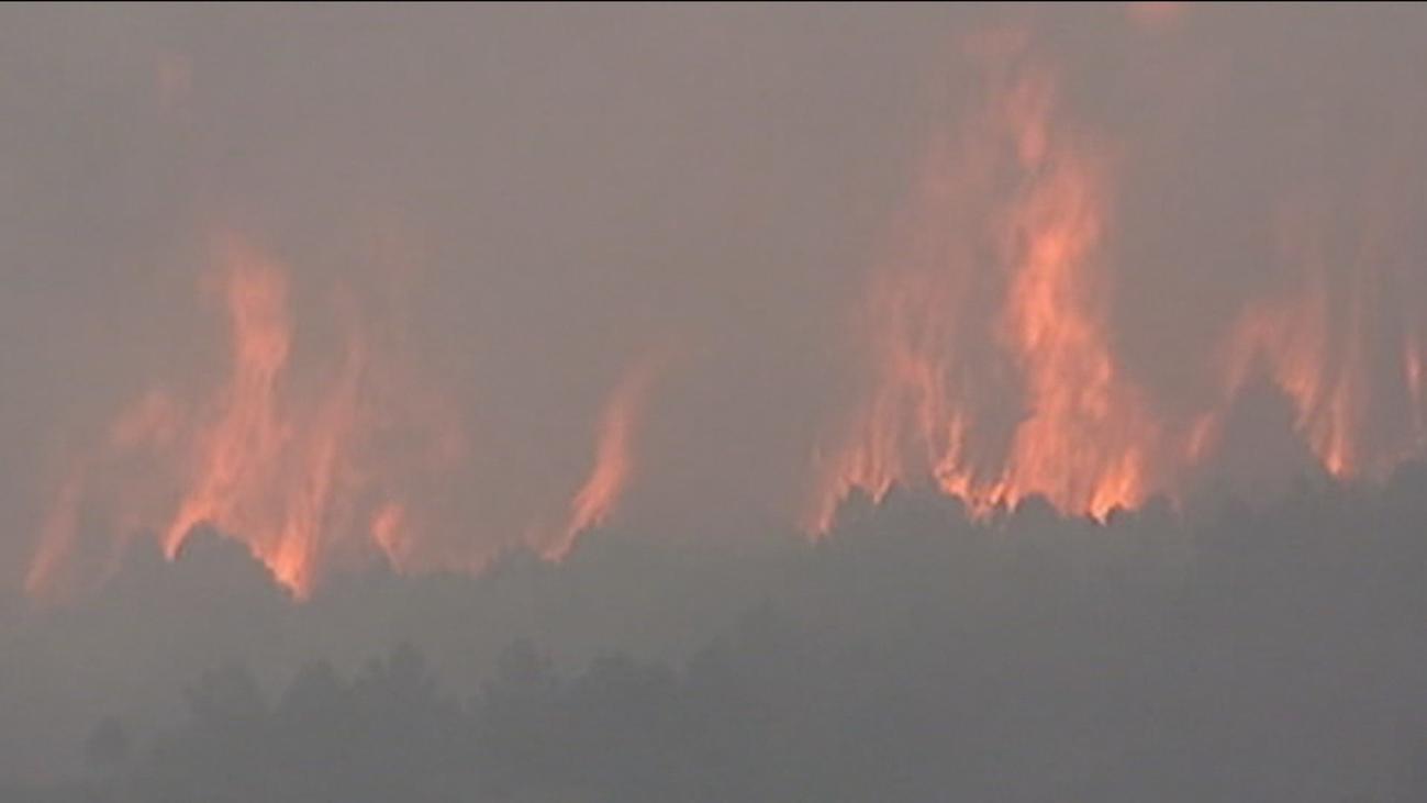 Se cumplen 20 años del incendio del monte Abantos