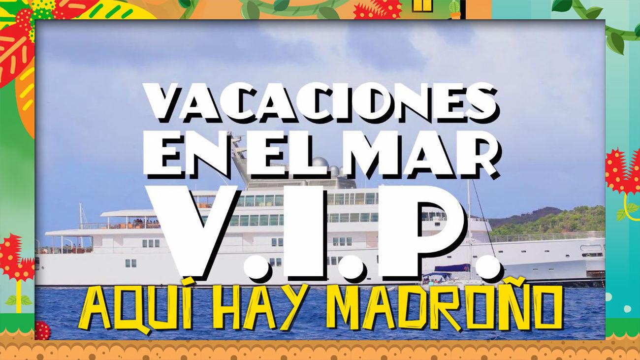 ¡Vacaciones VIP en el mar!