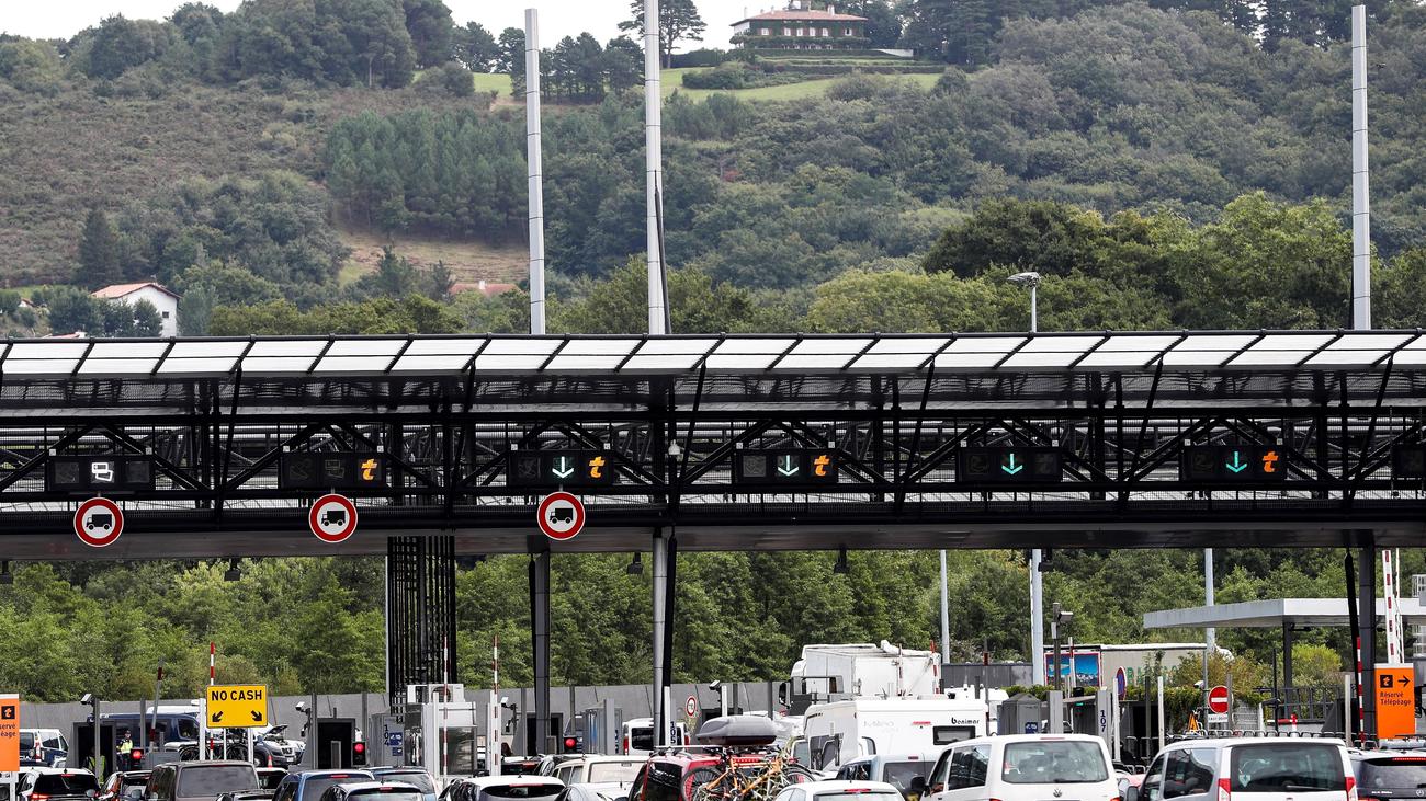 Retenciones en los pasos fronterizos con Francia por la cumbre del G7 en Biarritz