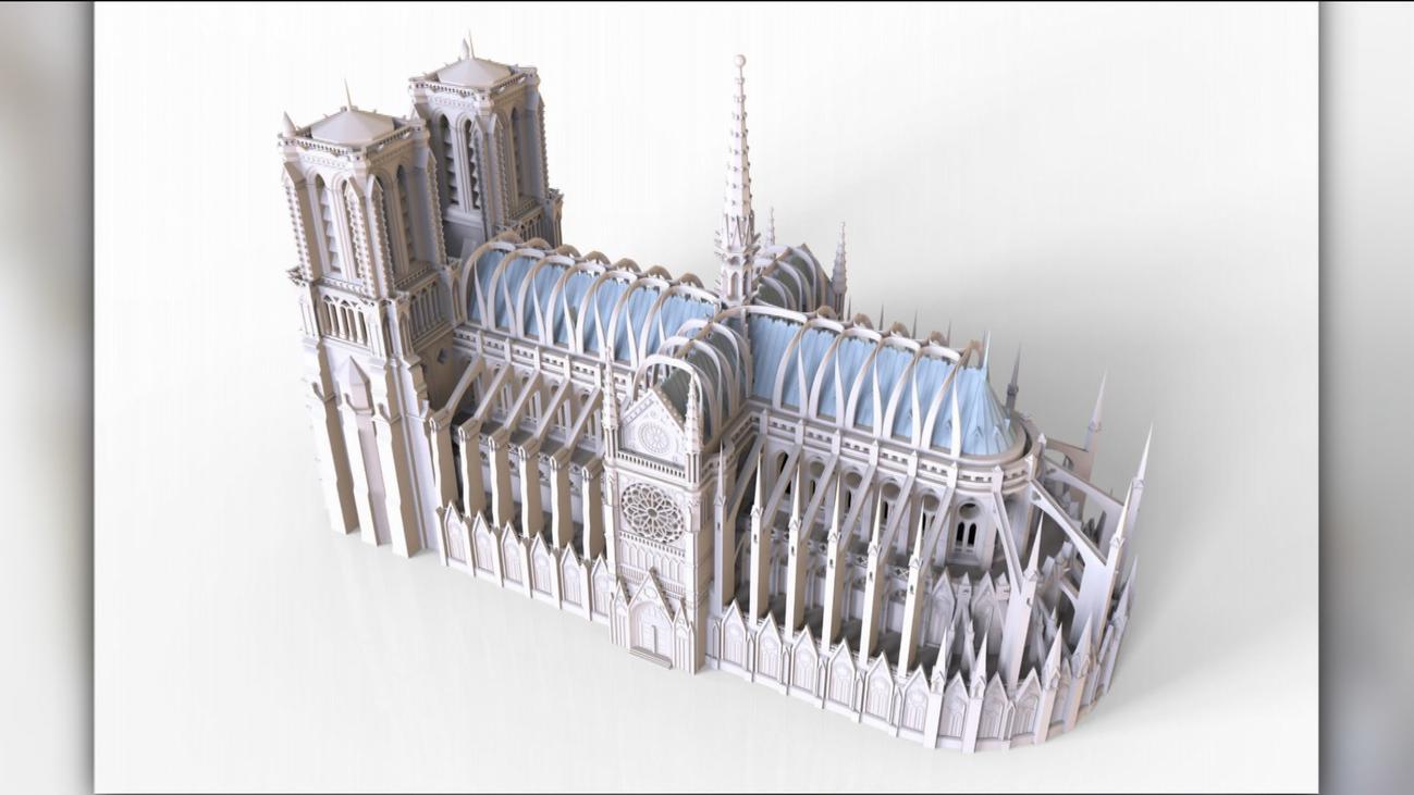 Un ingeniero español entre los candidatos para restaurar Notre Dame