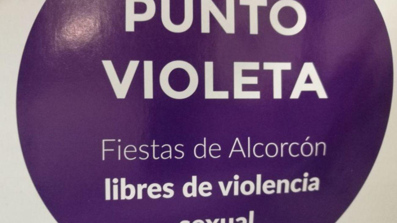 Por primera vez Alcorcón instala un Punto Violeta en sus Fiestas patronales