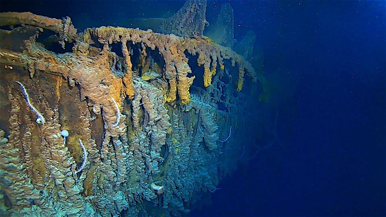 Las bacterias consumen los restos del Titanic