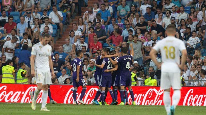 El Real Madrid empata ante el Valladolid y vuelve a las dudas en el Bernabéu (1-1)