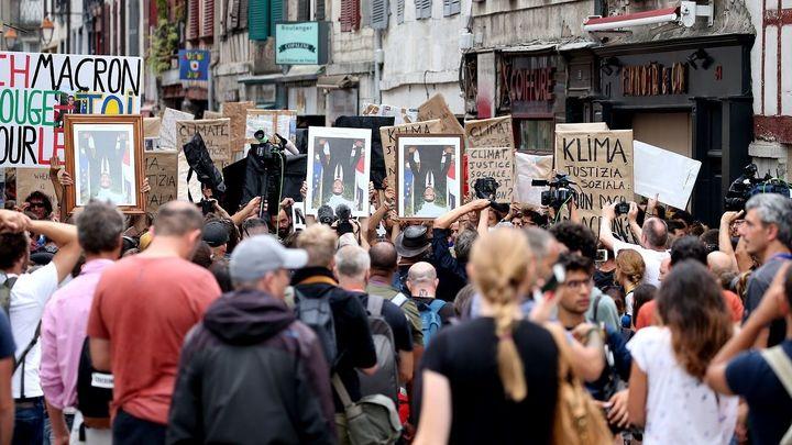 """Suspenden los actos de protesta contra la cumbre del G7 por """"falta de condiciones"""""""
