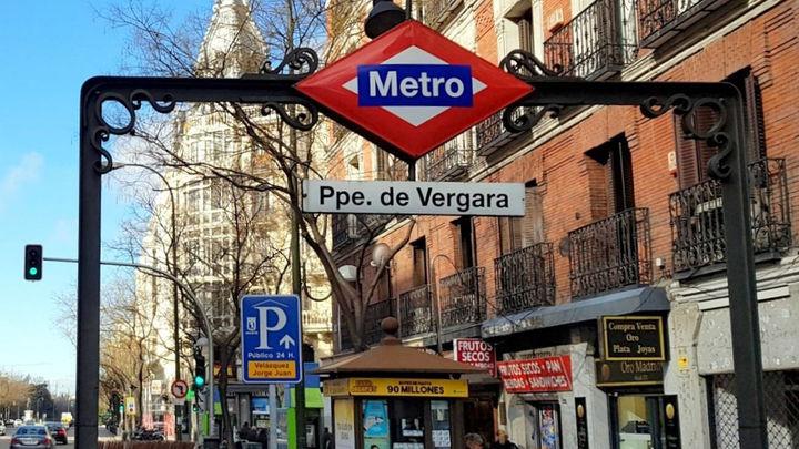Metro  reabre este lunes la estación de Príncipe de Vergara