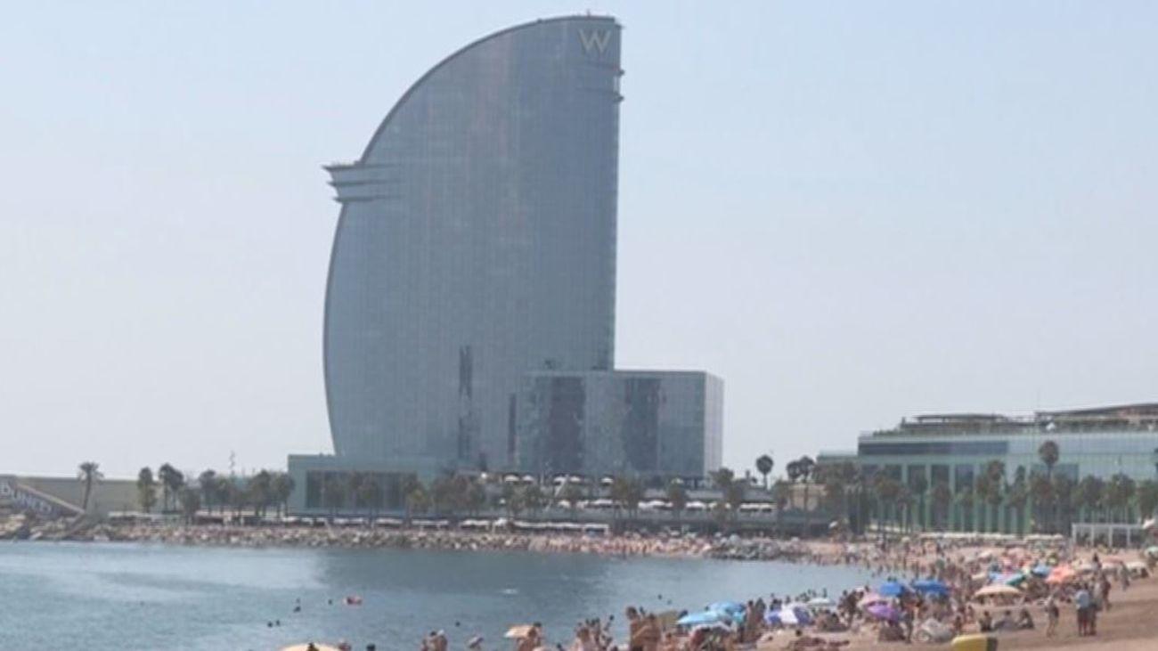 La bomba hallada en una playa de Barcelona se explotará  este lunes