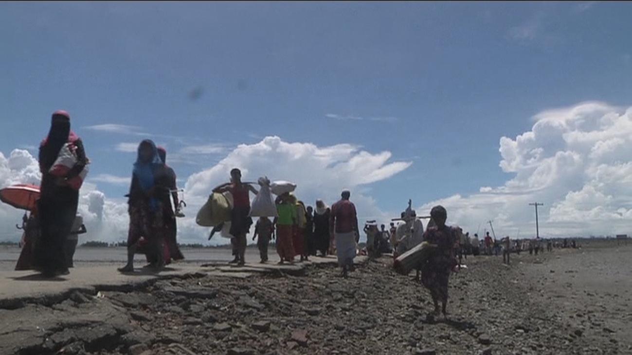Los Rohinyá, dos años de drama humanitario